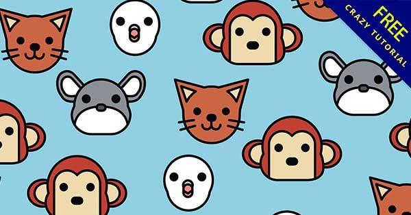 【動物背景】背景推薦:40張超可愛的動物背景圖下載