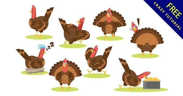 【卡通火雞】圖片推薦:38張感恩的卡通火雞圖下載