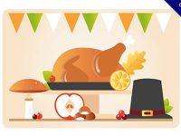 【感恩節】圖案推薦:30個可愛的感恩節圖案下載