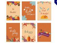 【感恩節卡片】卡片推薦:23張可愛的感恩節卡片製作素材下載