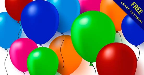 【氣球背景】背景推薦:40張可愛的氣球背景圖下載