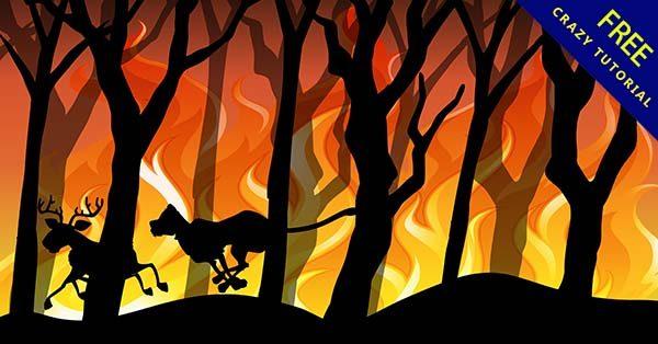 【火背景】背景推薦:26個超酷的火背景圖下載