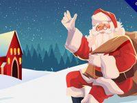 【聖誕圖片】圖片推薦:38款卡通的聖誕圖片包下載