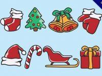 【聖誕素材】素材推薦:35款可愛的聖誕素材包下載