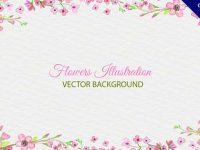 【花邊框】邊框推薦:48款超美的花邊框素材下載