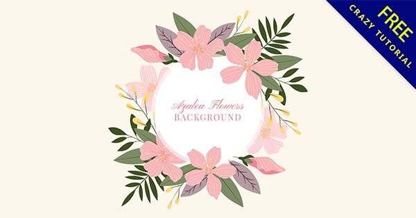 【花邊背景】背景推薦:44張漂亮的花邊背景圖下載