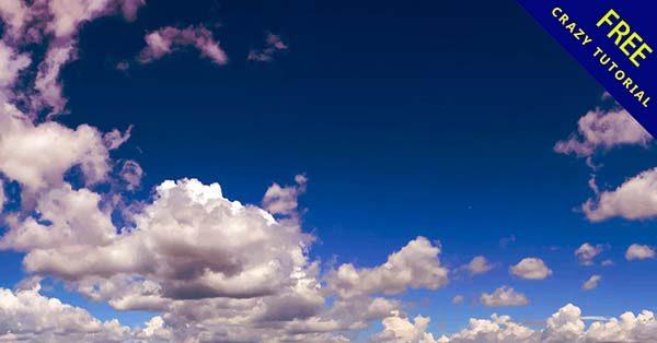 【藍天背景】背景推薦:36個卡通的藍天背景圖下載