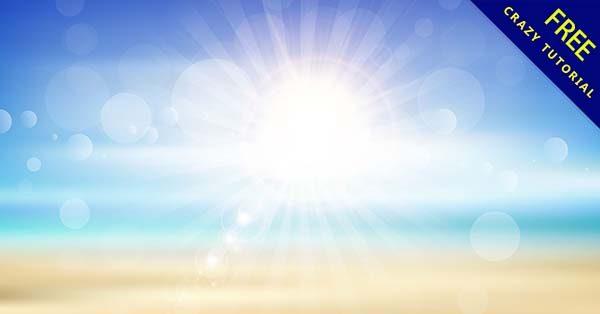 【夏天背景】背景推薦:39張季節的夏天背景圖下載