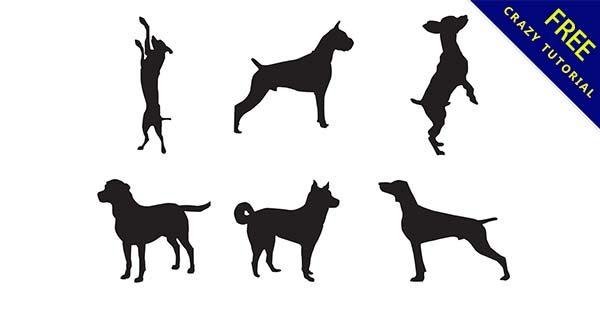 【寵物剪影】剪影推薦:37個黑色的寵物剪影圖下載