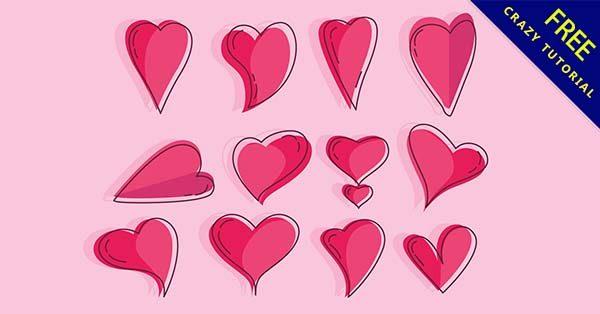 【愛心圖】愛心推薦:46套可愛的愛心圖案下載