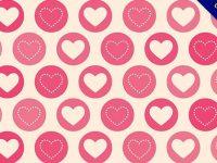【愛心背景】背景推薦:52個可愛的愛心背景圖下載