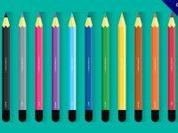 【鉛筆素材】素材推薦:32款可愛的鉛筆素材圖下載