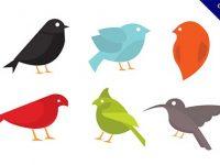 【鳥卡通】卡通圖推薦:32套可愛的鳥卡通圖案下載