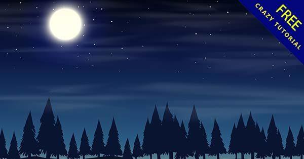 【黑夜背景】背景推薦:38個寧靜的黑夜背景圖下載