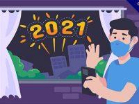 45張LINE可用的2021新年快樂貼圖下載,跨年祝賀LINE貼圖